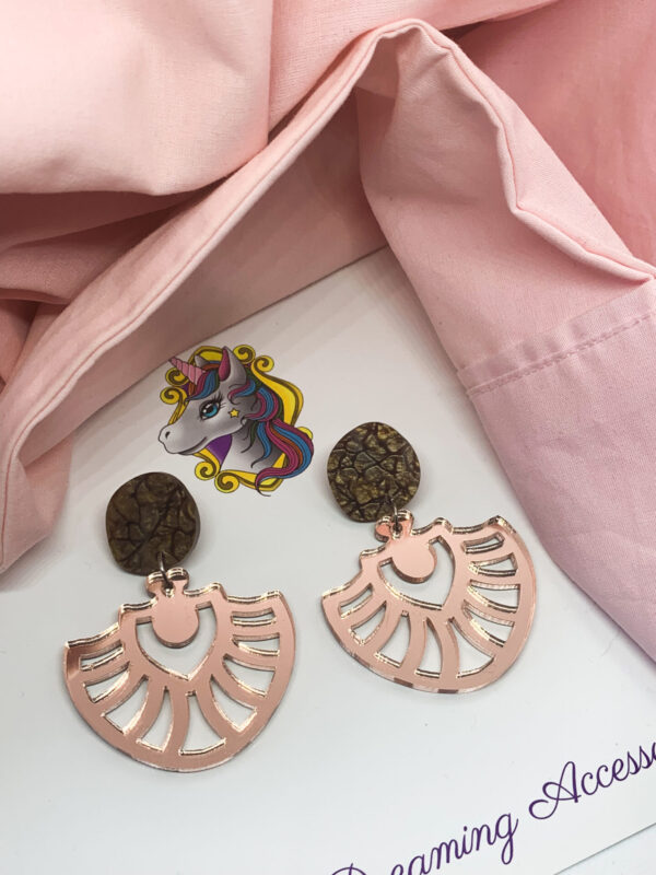 Willow Dangle Rose Gold by Unicorn Dreaming Accessories Unicorn Dreaming (Fitzroy)
