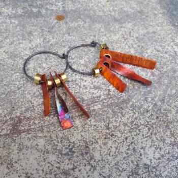 space-junk-voskhod-orange-hoop-earrings-by-emma-hesz emmahesz 742091