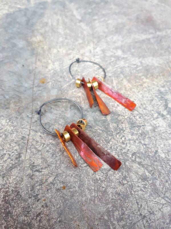 space-junk-voskhod-orange-hoop-earrings-by-emma-hesz emmahesz 943238