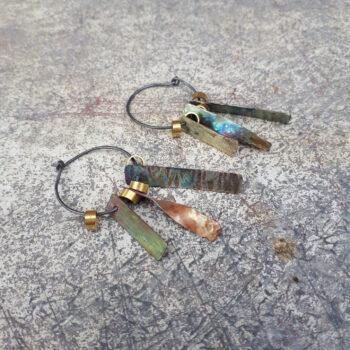 space-junk-atlantis-blue-hoop-earrings-by-emma-hesz emmahesz 826311