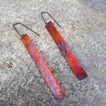 evening-sun-textured-strip-earrings-by-emma-hesz emmahesz 368075