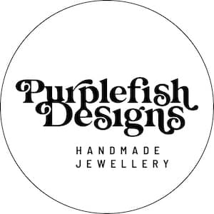 Purplefish Designs Logo Circle – MONO