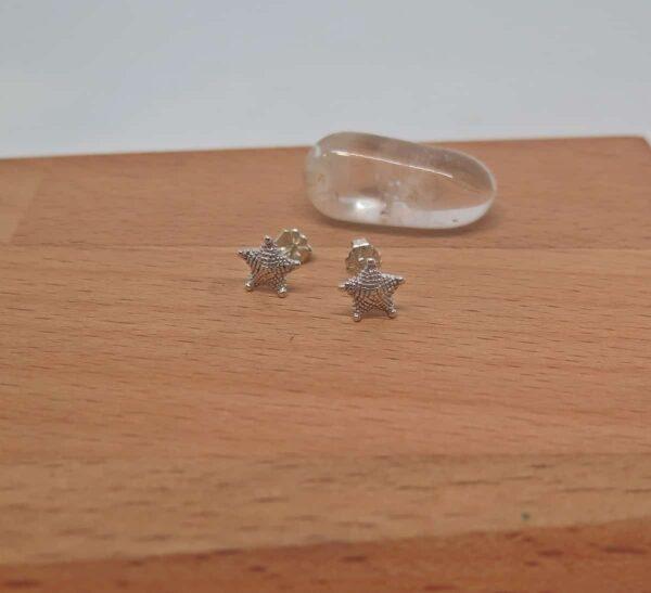 earrings-sterling-silver-star-fish-studs-germano-arts-919065-Germano Arts