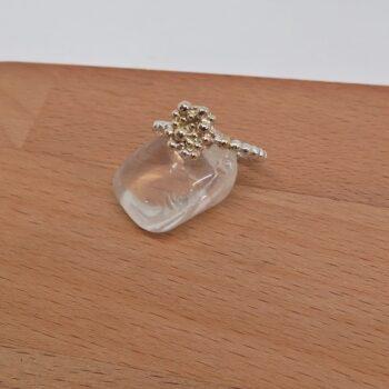 ring-9ct-gold-balls-sterling-silver-ring-germano-arts-919063-Germano Arts