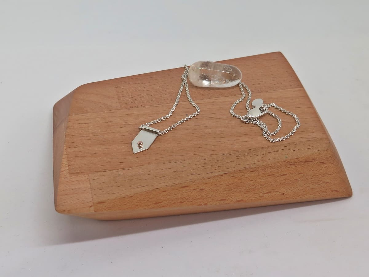 Sterling Silver & 14kt Gold Necklace