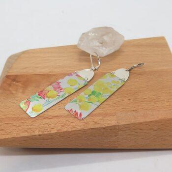 earrings-dye-sublimation-wattle-flowers-with-sterling-silver-germano-arts-919075-Germano Arts