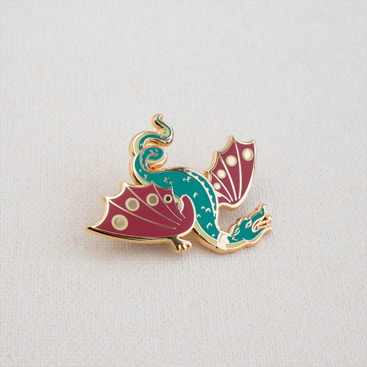 Field Dragon Enamel Pin By Oh Jessica Jessica