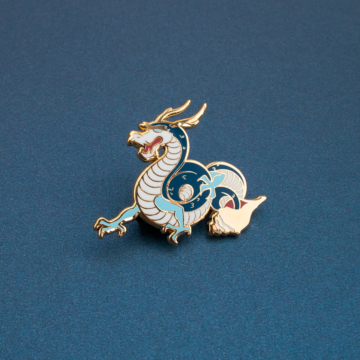 Sea Dragon Enamel Pin By Oh Jessica Jessica