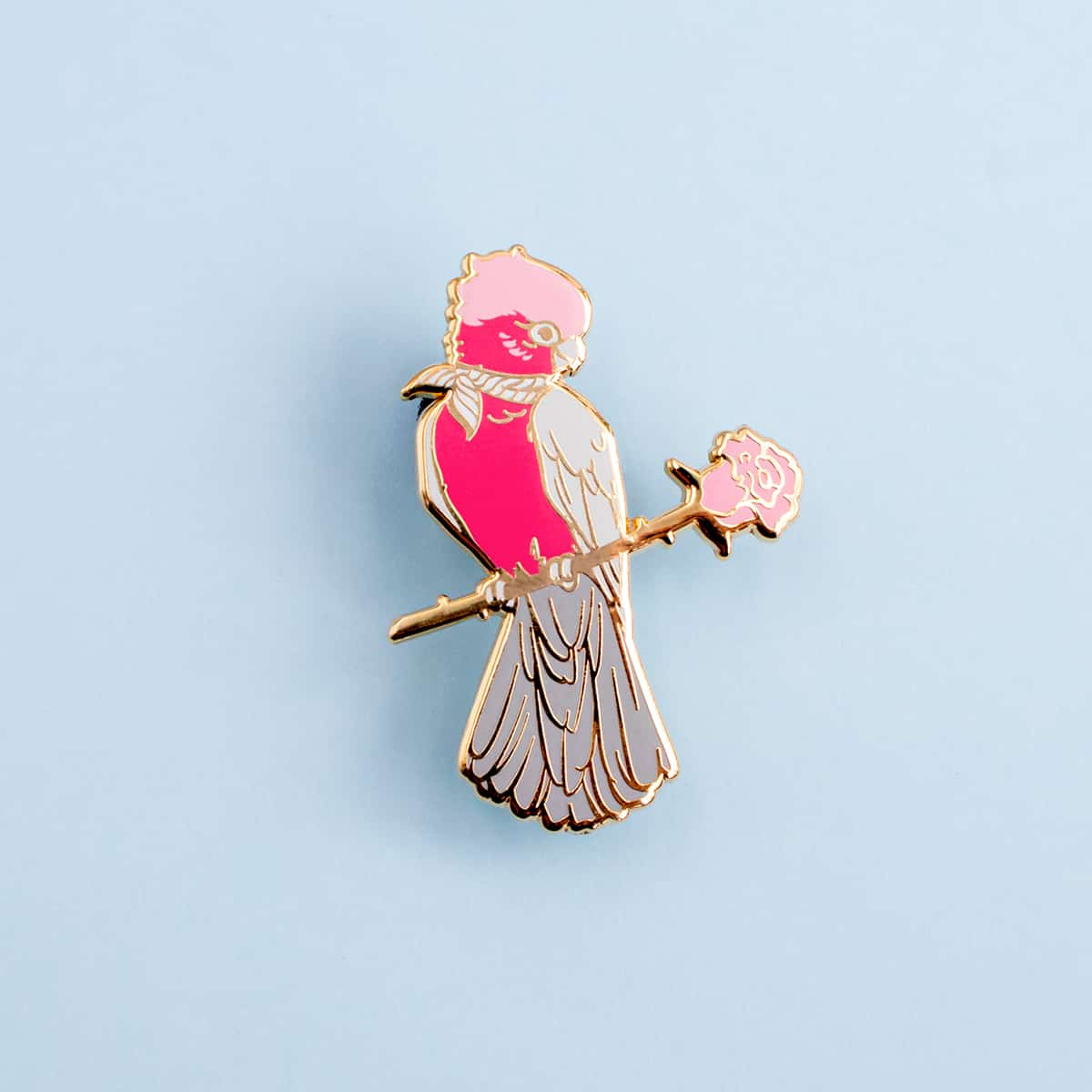 Galah Enamel Pin By Oh Jessica Jessica
