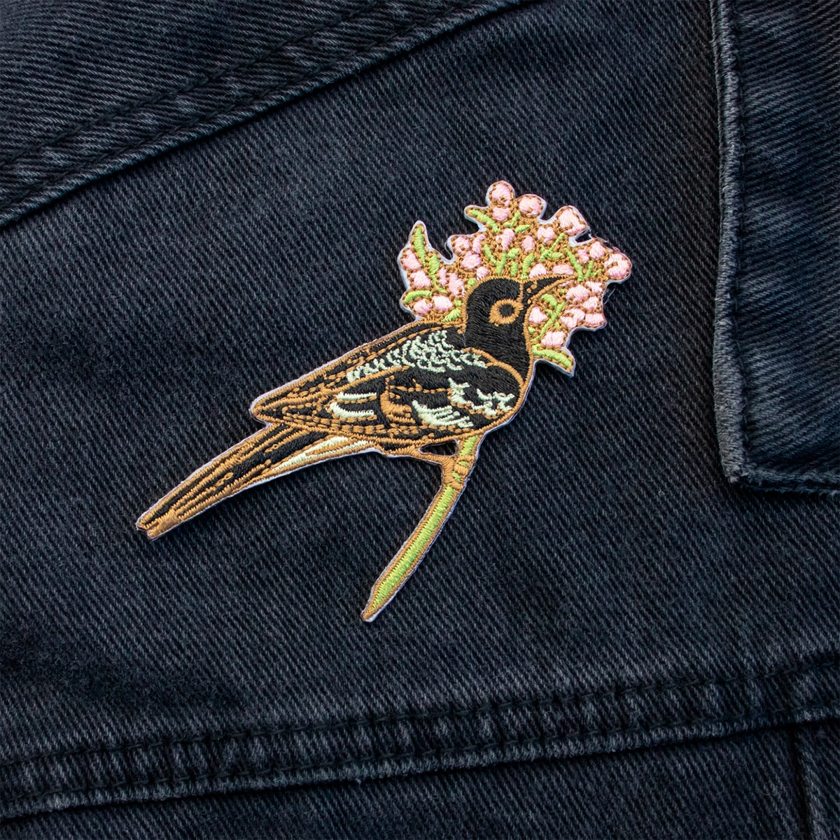 Honeyeater Iron On Patch By Oh Jessica Jessica