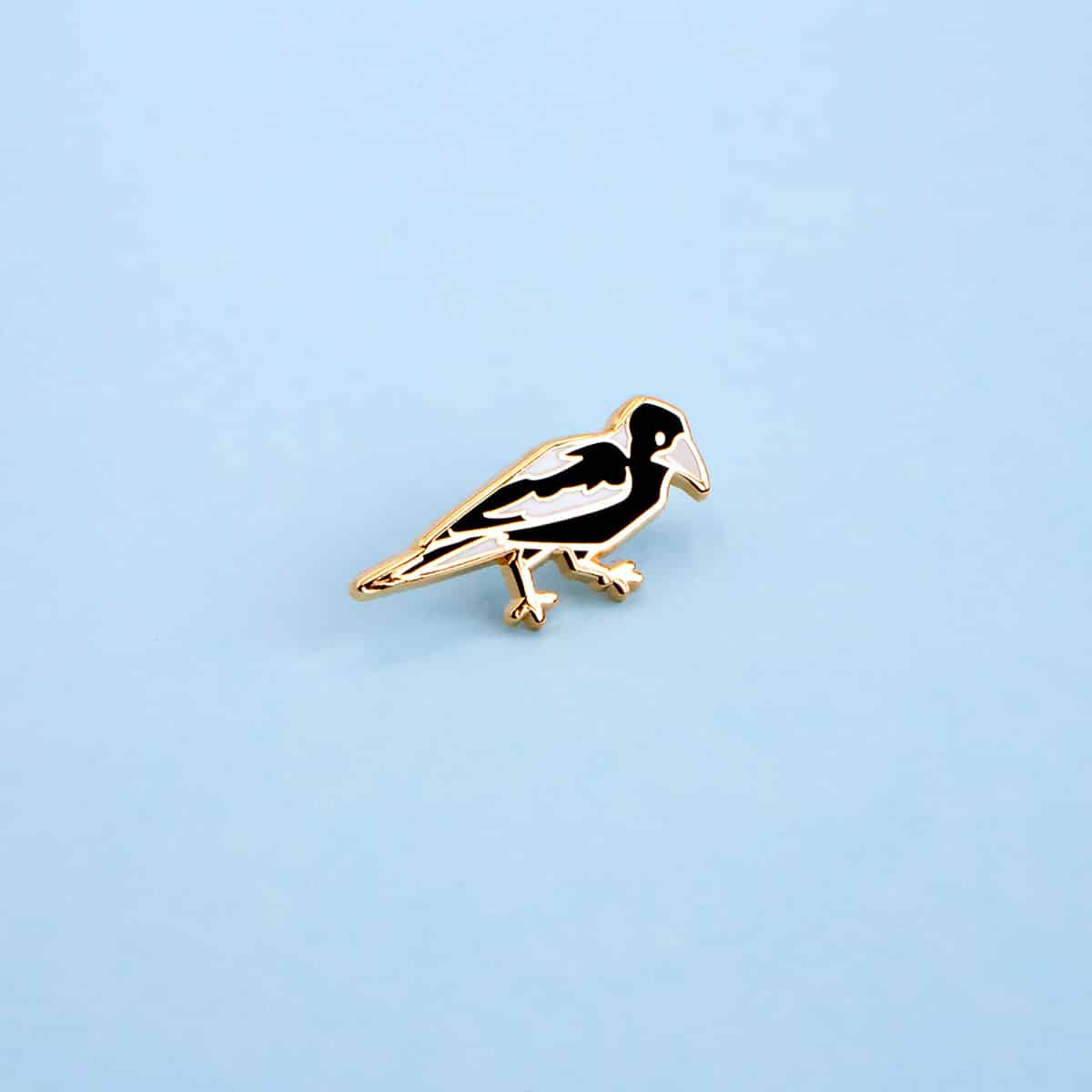 Magpie Mini Pin (Left) By Oh Jessica Jessica