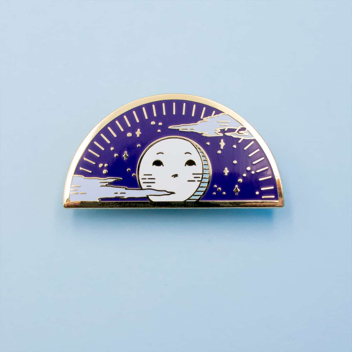 Moon Enamel Pin By Oh Jessica Jessica