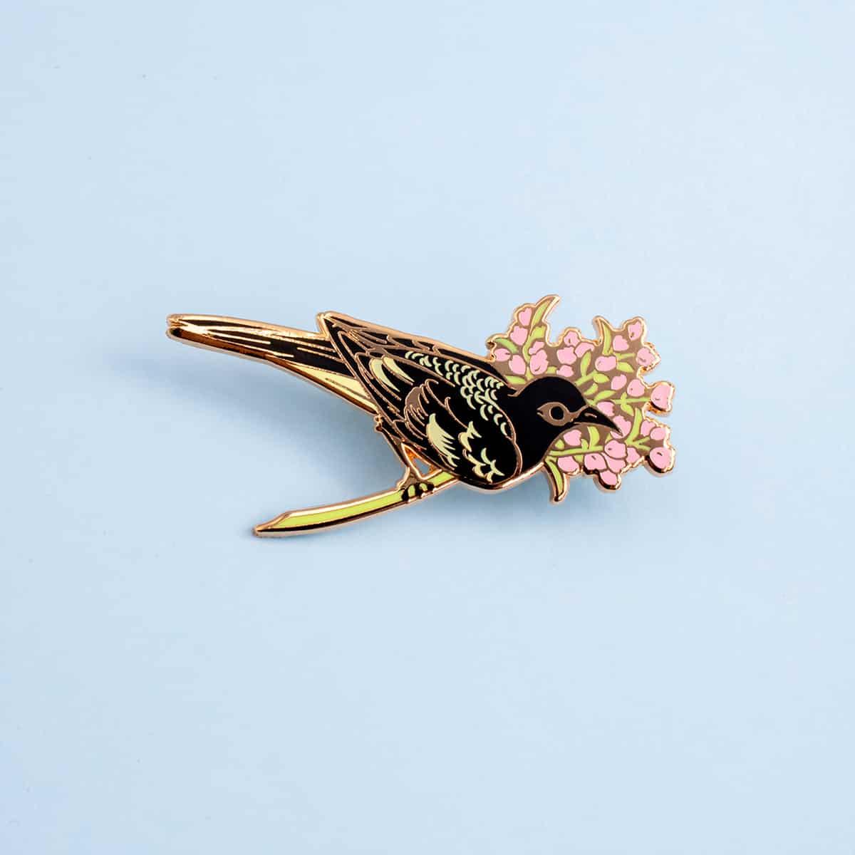 Regent Honeyeater Enamel Pin By Oh Jessica Jessica