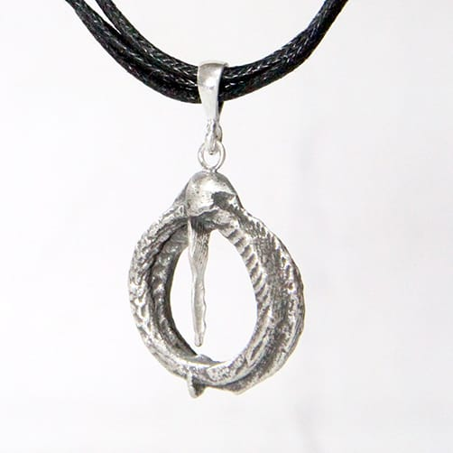 oxidised-cuttlebone-cast-icicle-pendant-by-tlh-inspired-937031-tlhinspired