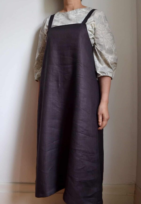 maxi-salopette-skirt-wine-s-size-in-washed-linen-by-apois-969078-apois