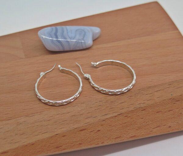 ss-rope-hoop-earrings-germano-arts-919008-Germano Arts