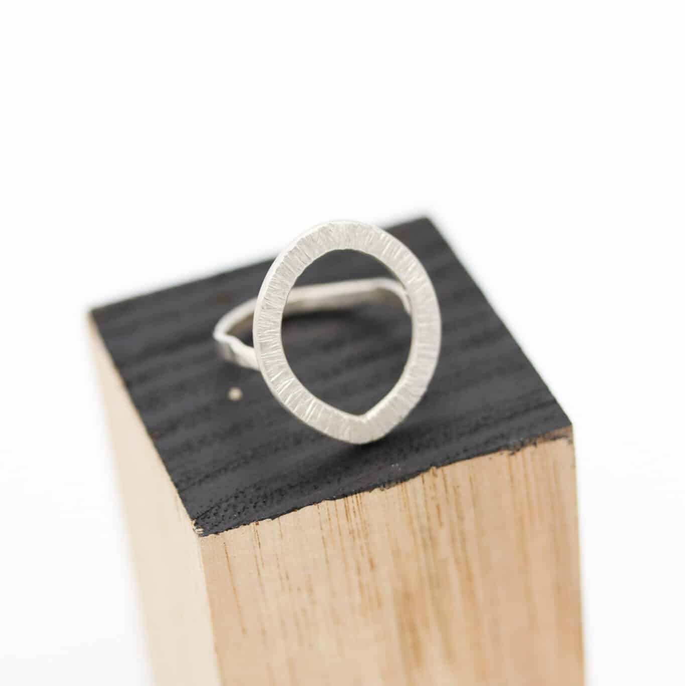 Hammered STG Ring By Of That Ilk