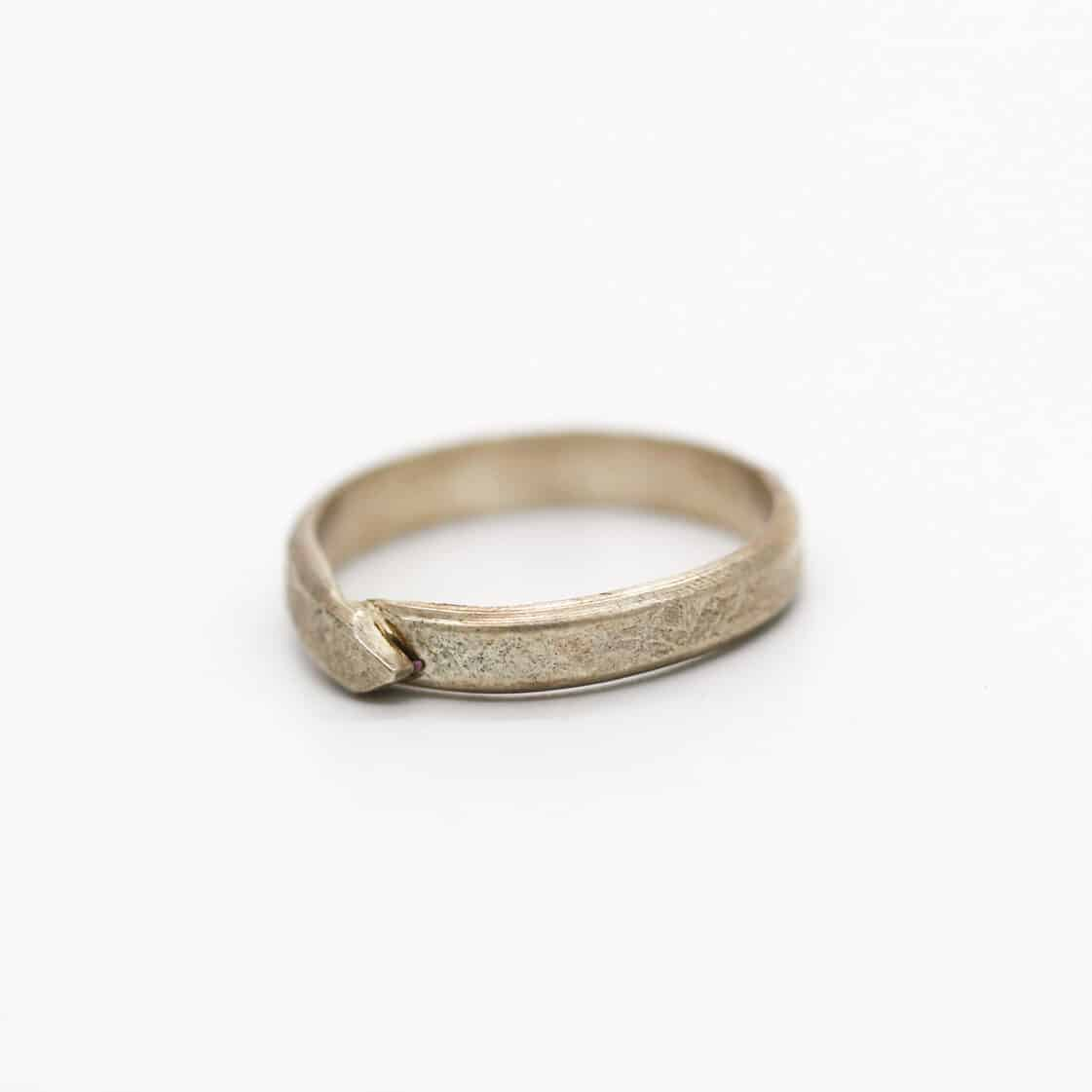 Roller Textured Silver Ring Llery By Of That Ilk