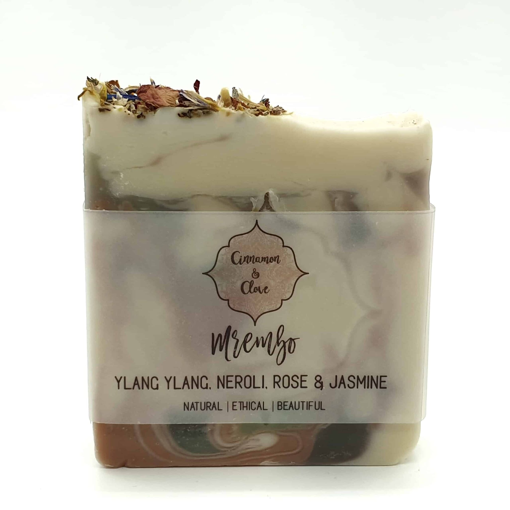 Mrembo – Handcrafted All Natural Artisan Floral Soap By Cinnamon And Clove (Fitzroy)