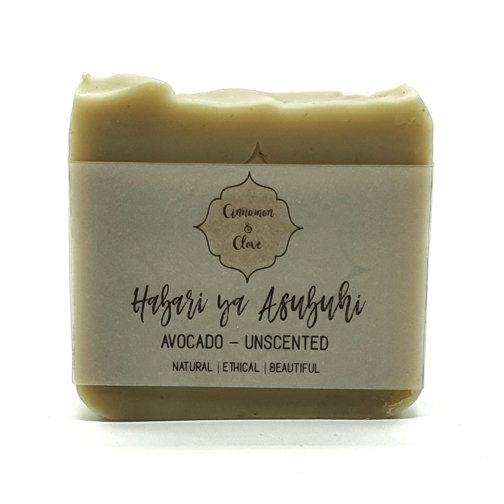 Habari Ya Asubuhi – Avocado Unscented Handcrafted All Natural Artisan Soap With Avocado By Cinnamon And Clove (Fitzroy)