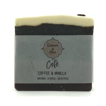 Coffee Soap by Cinnamon and Clove