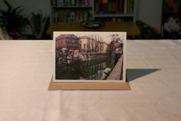 greeting-card-ljubljanica-river-with-trees-by-genevieve-engelhardt-935098-genengelhardt