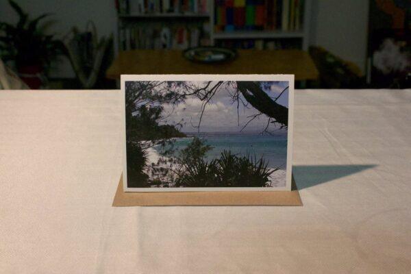 greeting-card-beach-through-the-trees-byron-bay-by-genevieve-engelhardt-935079-genengelhardt