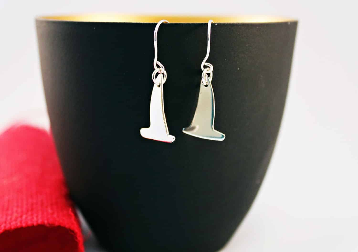 Yacht Earrings By The Silver Goose