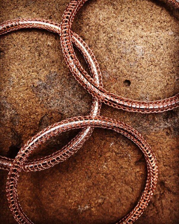 rose-gold-golf-bangle-6-stitch-single-knit-by-by-luba-207029-byluba