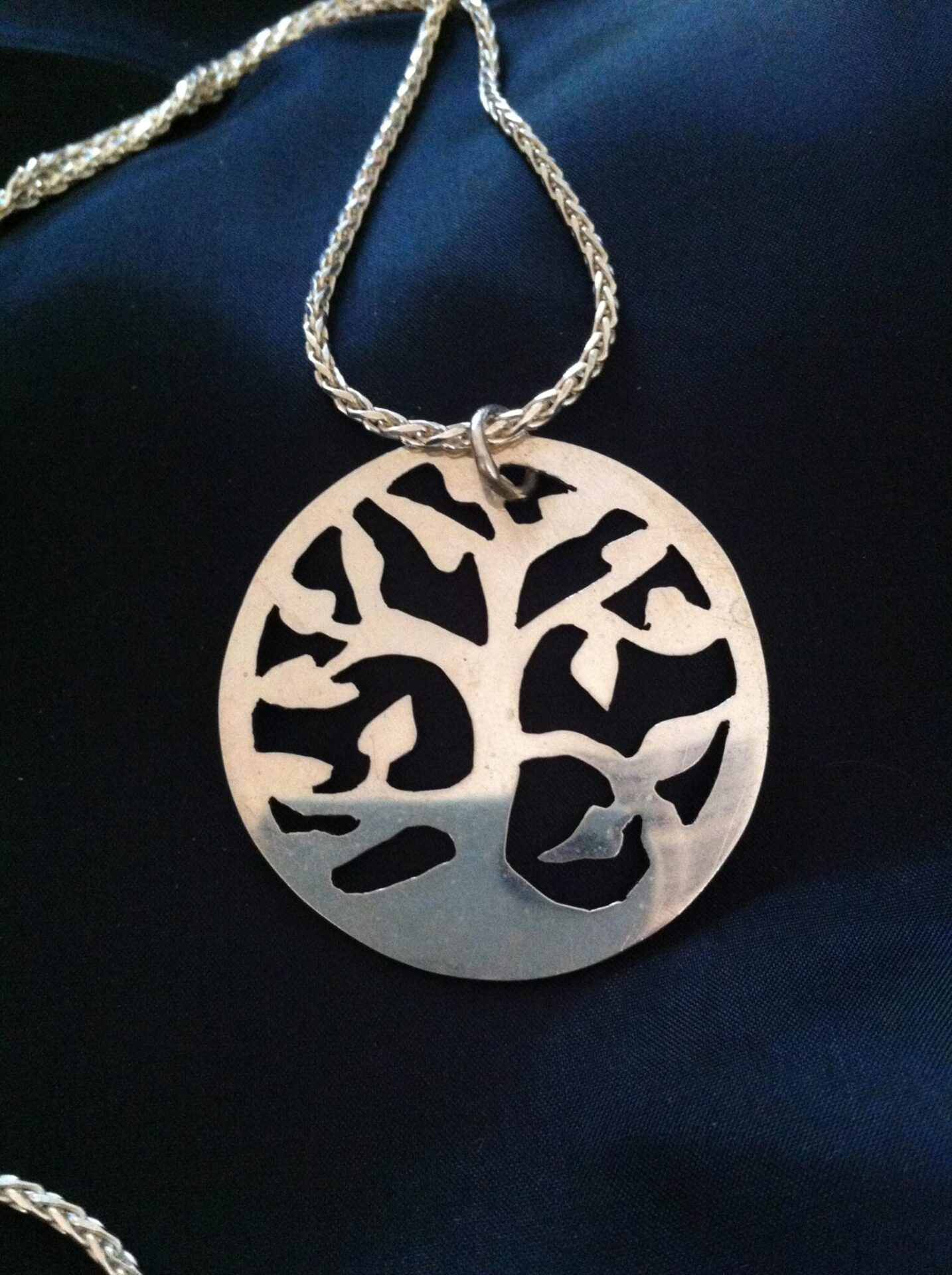Tree Of Life Necklace By The Silver Goose