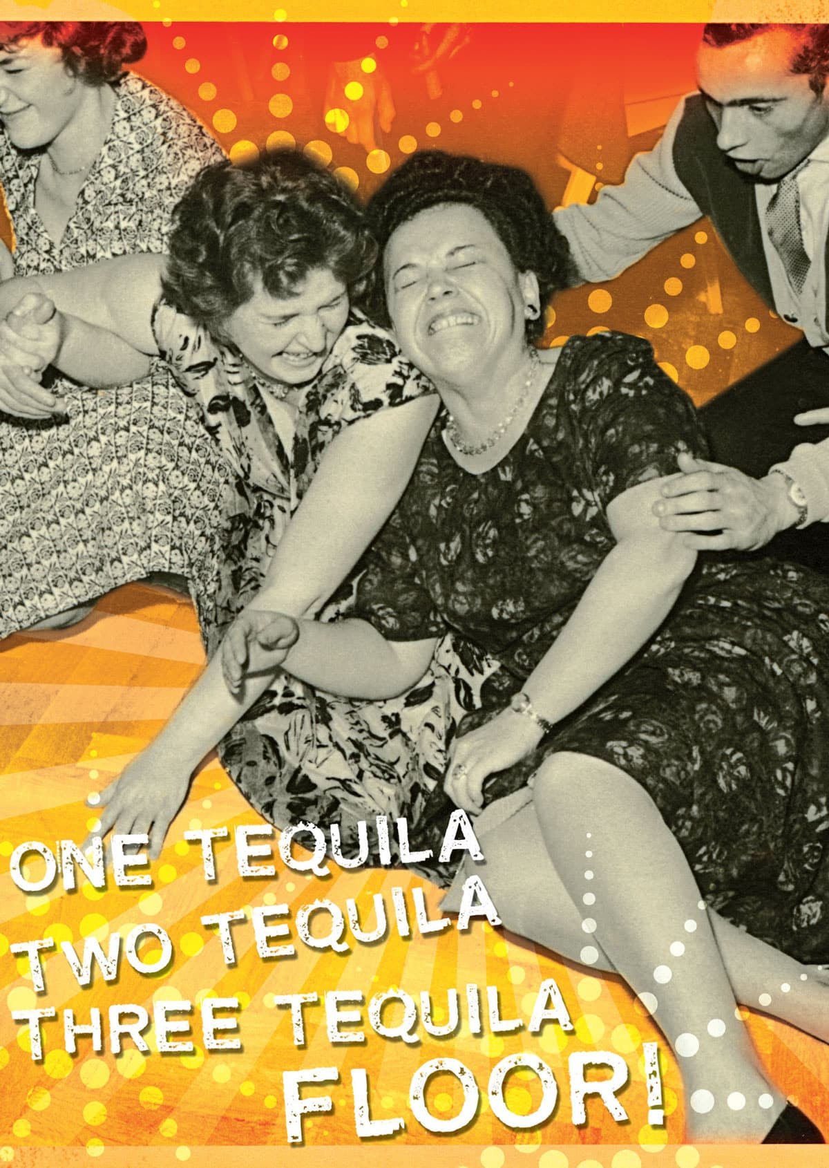CARD – TEQUILA By Look Mama