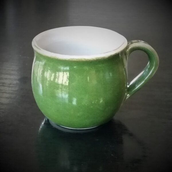 large-ceramic-mug-green-by-clifton-hill-pottery-by-Clifton Hill Pottery