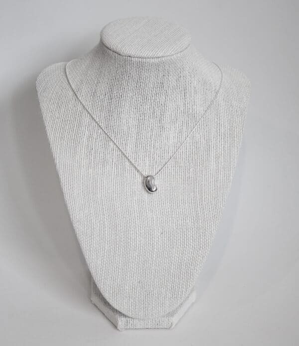 bean-handmade-sterling-silver-pendant-with-snake-chain-by-purplefish-designs-by-andrea_purplefish
