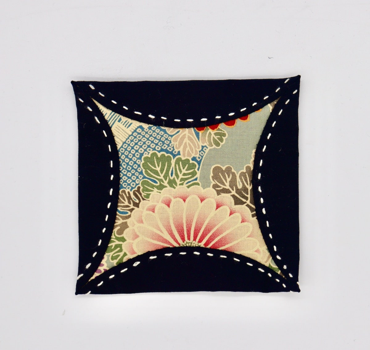 Serene Garden Coaster  By Get Fired Up Art
