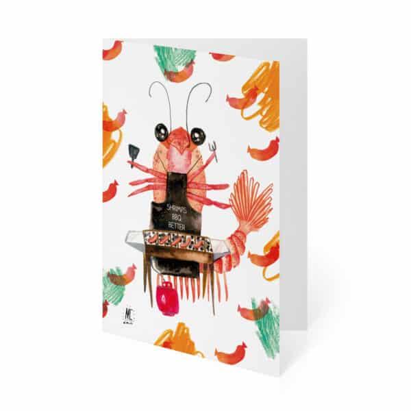 shrimp-bbq-by-mc-drawn by mirandacosta