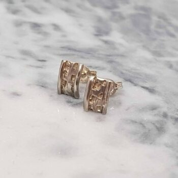 sterling-silver-textured-studs-by-corinne-lomon-by-corinnelomon