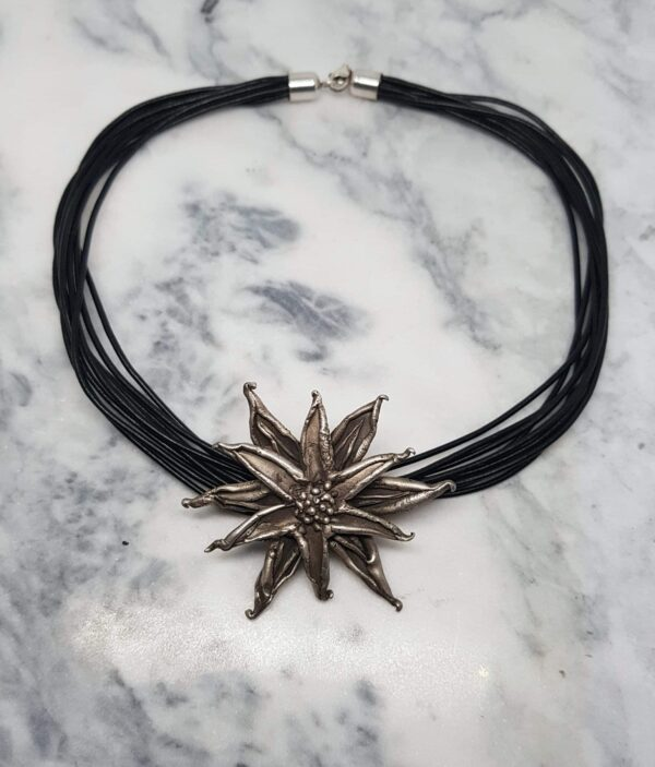 sculptural-large-sterling-silver-pendant-on-leather-necklace-by-corinne-lomon-by-corinnelomon
