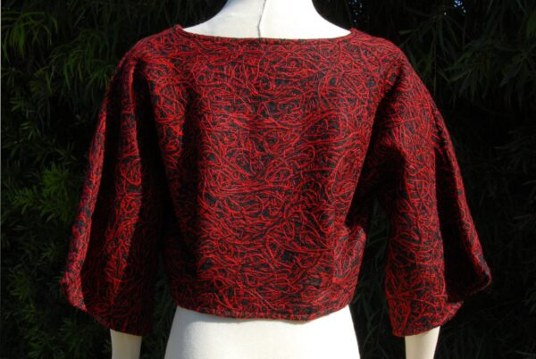 black-and-red-wool-blend-bolero-by-jezenya-designs-by-Clare