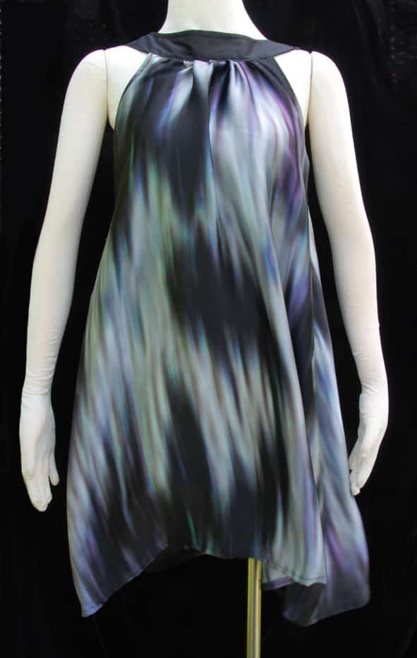 100% Silk Digital Print Freesize Dress By Jezenya