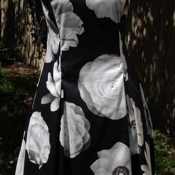 black-cotton-sateen-with-cream-flowers-dress-by-jezenya-designs-by-Clare