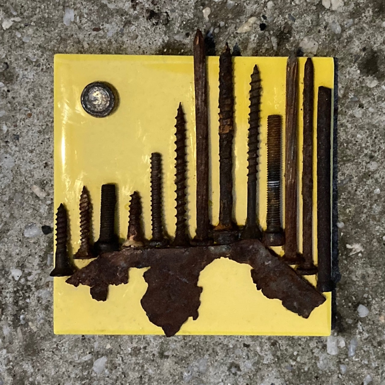 City By The Bay 5 – Miniature Wall Sculpture By NancyDee Sculptures