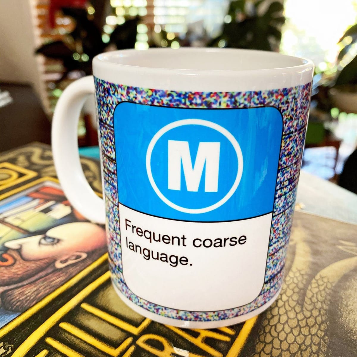 MUG – Frequent Coarse Language By Look Mama