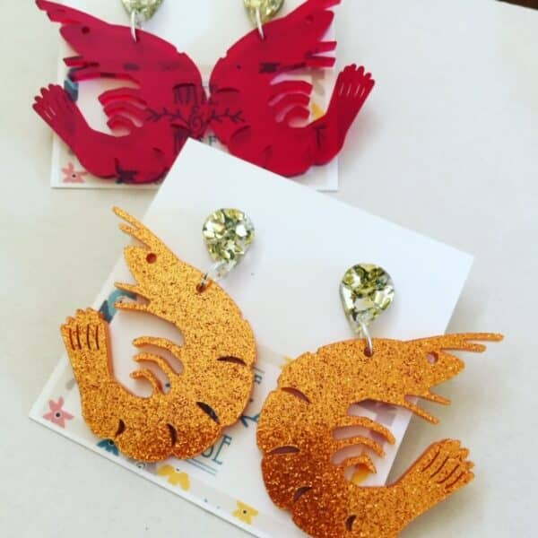 coral-glitter-acrylic-prawns-by-kate-and-rose-fitzroy-122948-katenrosetea