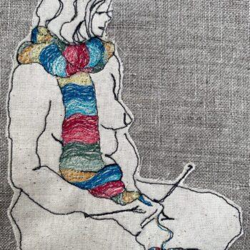the-knitter-original-textile-artwork-by-juliet-d-collins-929235-julietdcollins