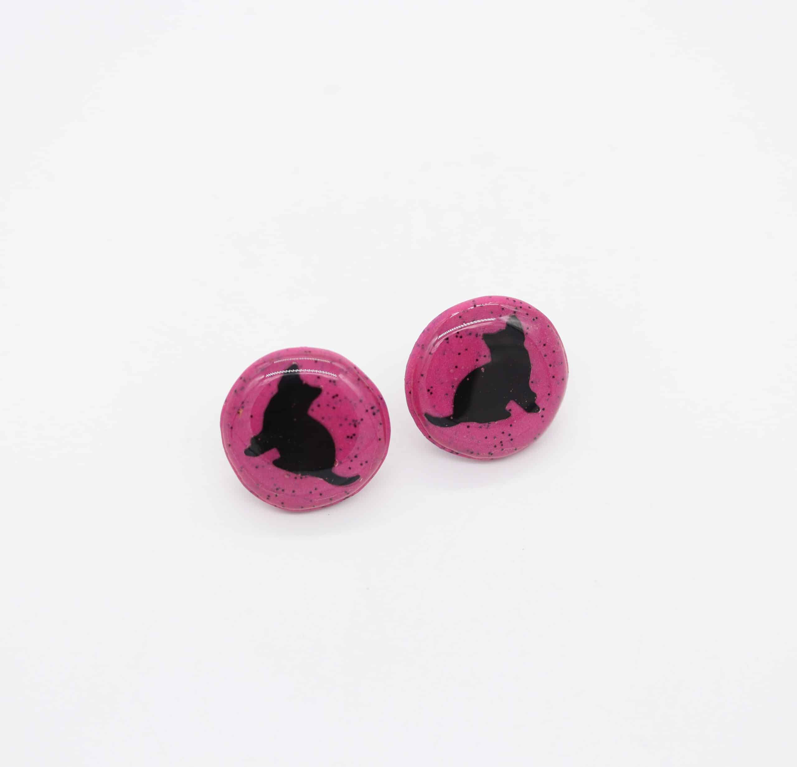 Black Cat Studs By CO'B By Design
