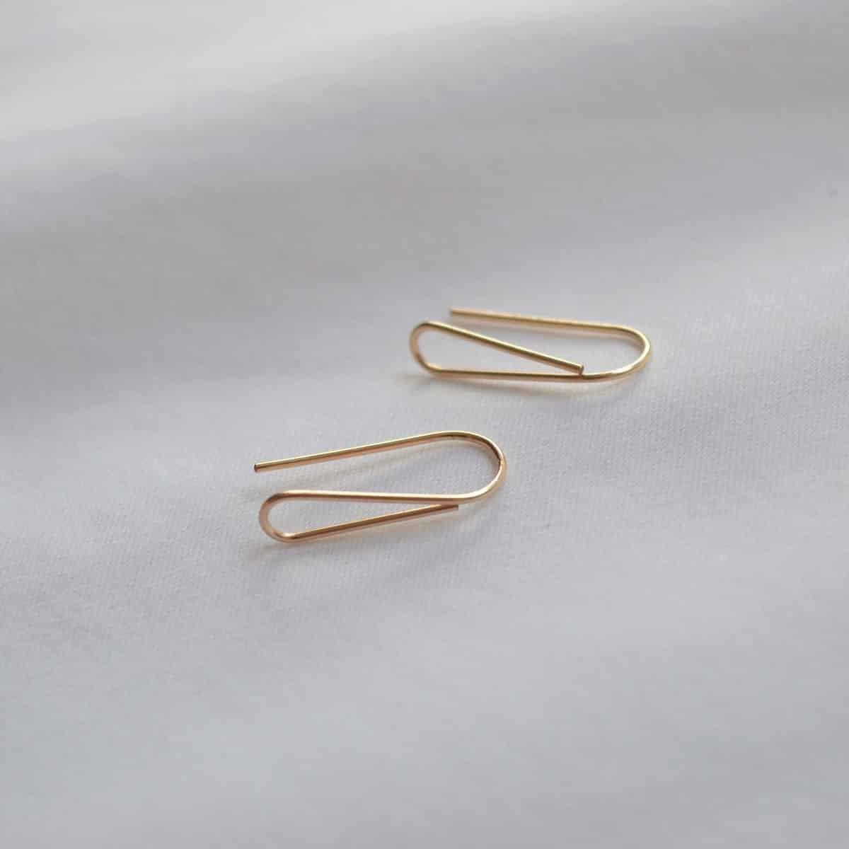 Dolce Earrings In 14k Gold Filled By Little Hangings