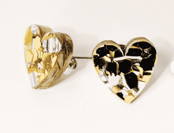 heart-gold-amp-silver-glitter-acrylic-studs-by-kate-and-rose-fitzroy-122711-katenrosetea