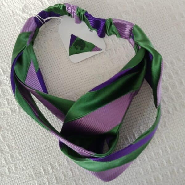silk-turban-inspired-headband-in-emerald-green-mauve-and-purple-stripes-handcrafted-from-upcycled-ties-by-judith-scott-177283-judithscott
