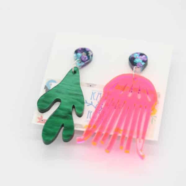 pink-jellyfish-and-green-seaweed-earrings-by-kate-and-rose-prahran-912268-katenrosetea