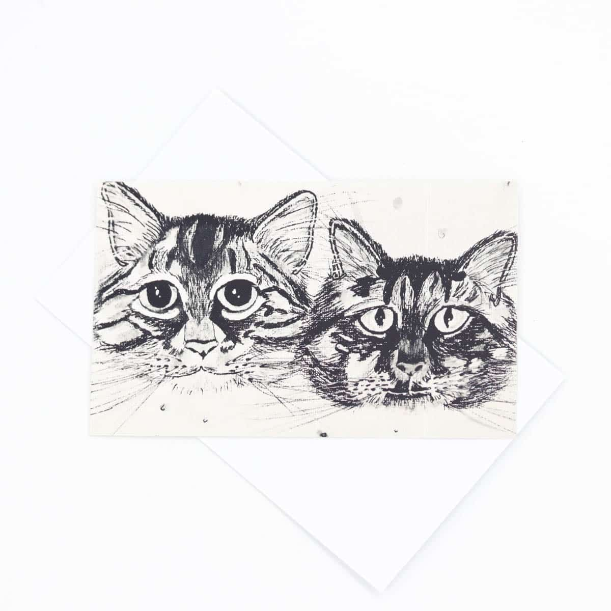Comet & Skittles B&W Gift Tag – $2 By Kate And Rose (Fitzroy)